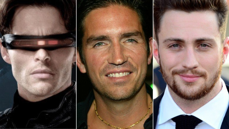 James Marsden, Jim Caviezel, and Aaron Taylor-Johnson