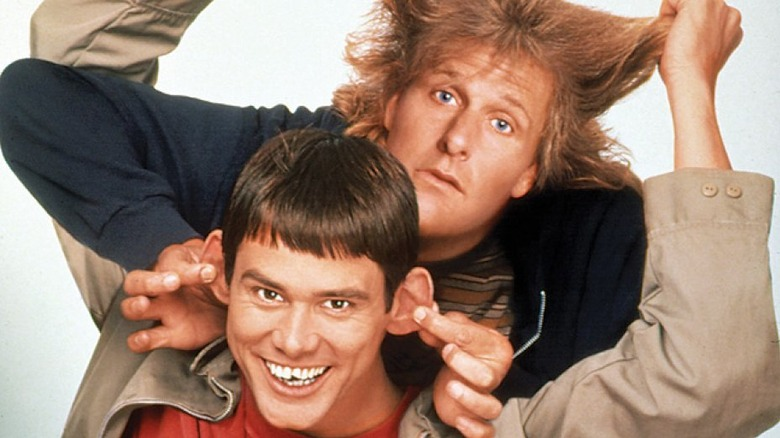 Jeff Daniels and Jim Carrey in Dumb and Dumber