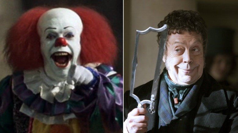 Pennywise played by Tim Curry