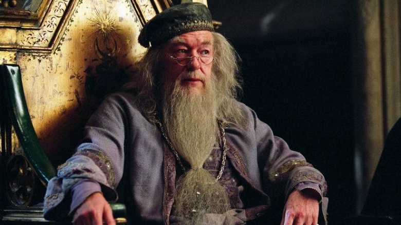 from Hudson dumbledore is gay