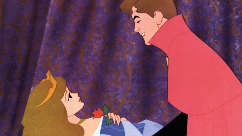 Aurora and Prince Charming from Sleeping Beauty
