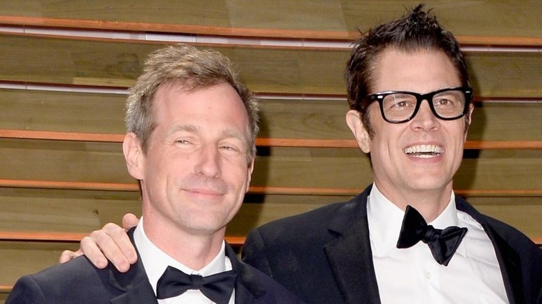 Spike Jonze and Johnny Knoxville