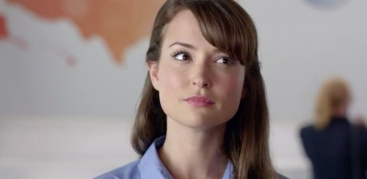 What you didn't know about the AT&T commercial girl