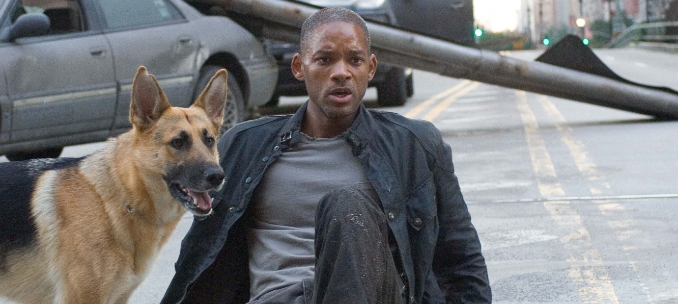 name of dog in i am legend