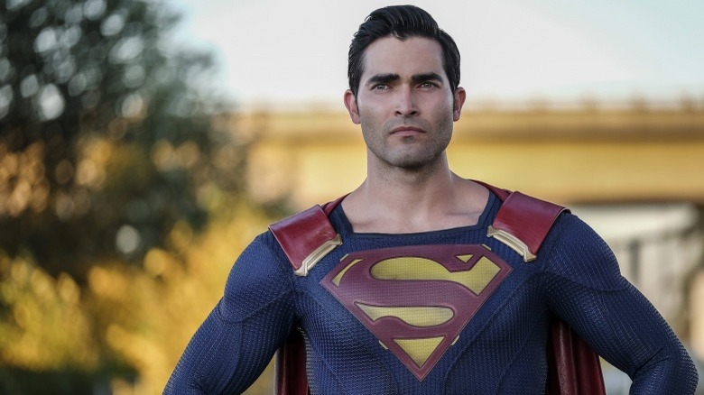 Tyler Hoechlin as Superman in CW's Supergirl