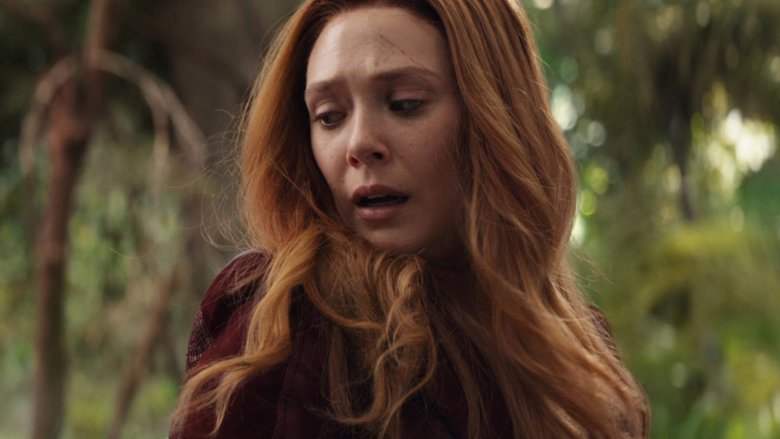 Elizebeth Olsen as Scarlet Witch