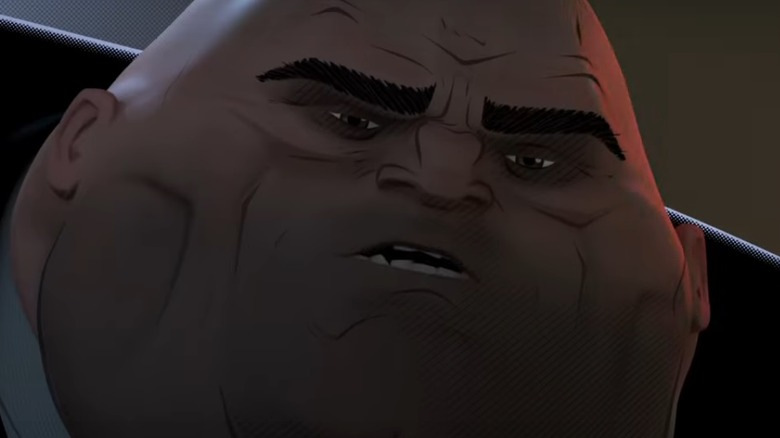 The Kingpin in Spider-Man: Into the Spider-Verse