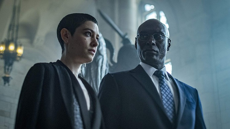 The Adjudicator and Charon in John Wick Chapter 3 Parabellum