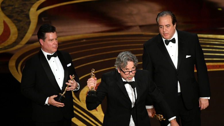 The winners from Green Book.