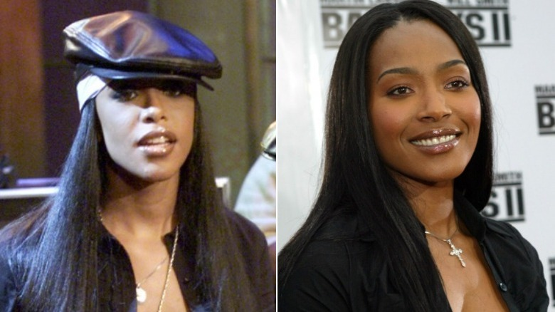 Alliyah and Nona Gaye