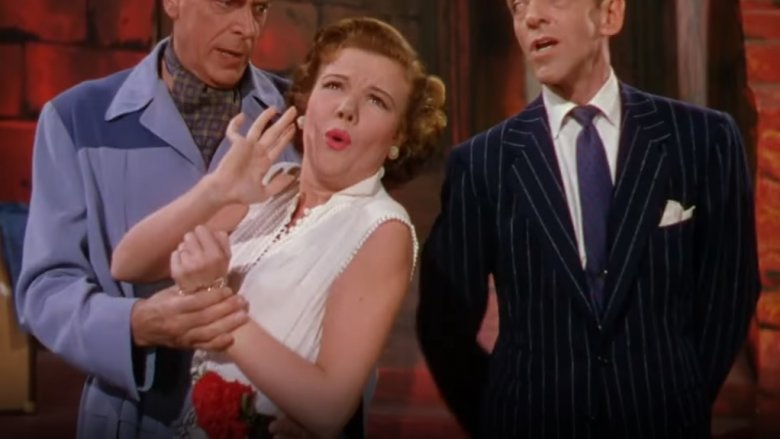 Jack Buchanan, Nanette Fabray, and Fred Astaire in The Band Wagon