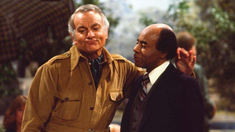 Robert Mandan and Roscoe Lee Browne in Soap