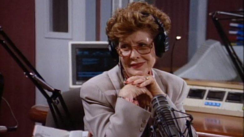Susan Brown as Amber Edwards in Frasier