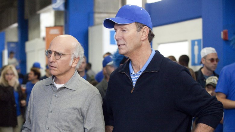 Larry David and Bob Einstein in Curb Your Enthusiasm