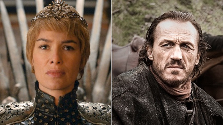 Cersei Lannister and Bronn from 'Game of Thrones'