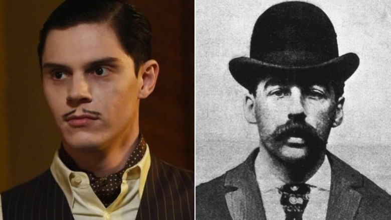 Mr. March on American Horror Story and H.H. Holmes