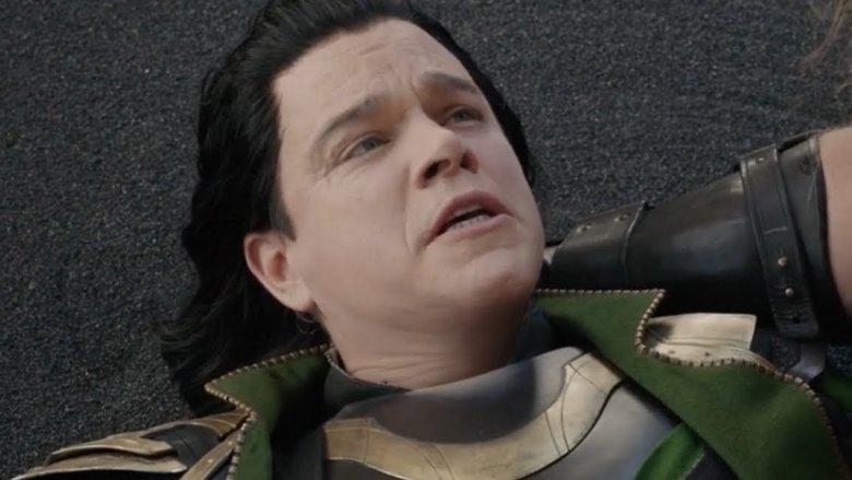 Matt Damon as Loki