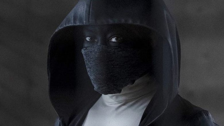 Regina King as her masked character in HBO's Watchmen