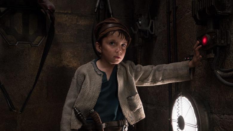 Temirlan Blaev as Temiri Blagg in The Last Jedi