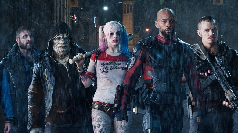 A shot of the team from Suicide Squad