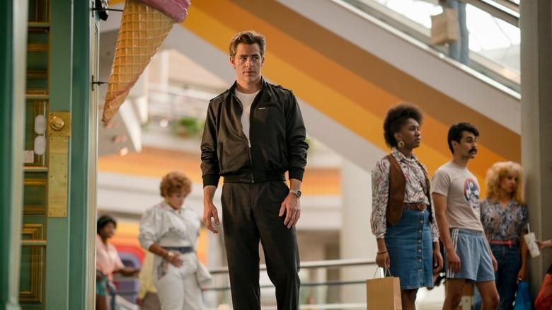 Chris Pine as Steve Trevor in Wonder Woman 1984
