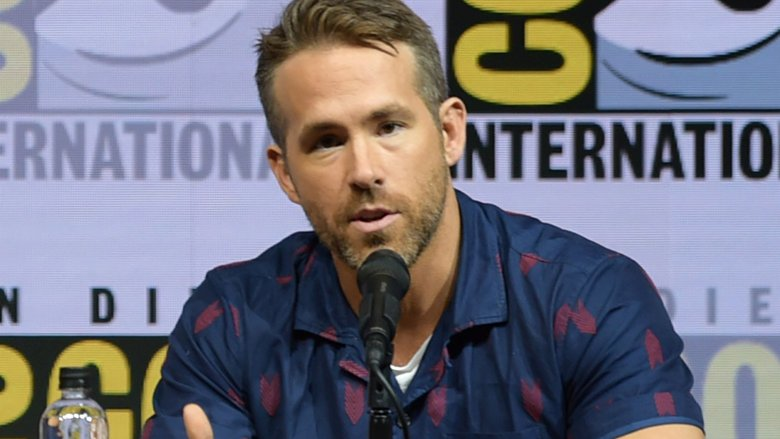 Ryan Reynolds at Comic-Con