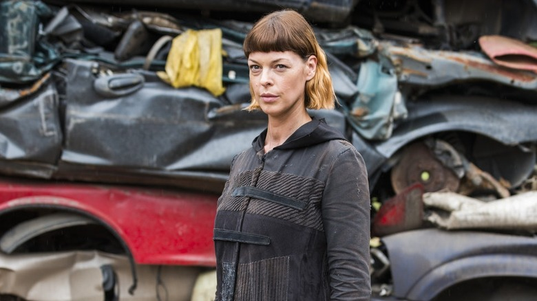 """Pollyanna McIntosh in The Walking Dead"""