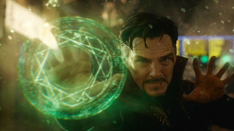 Doctor Strange from his first live-action film