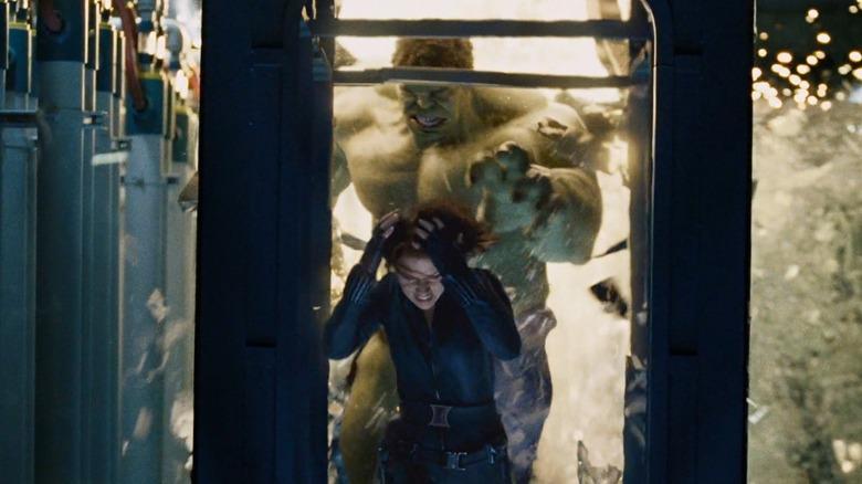 Hulk and Black Widow