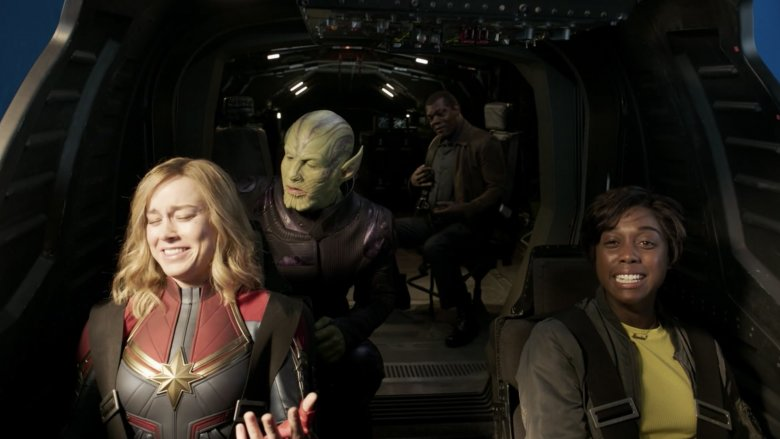 Outtake from Captain Marvel