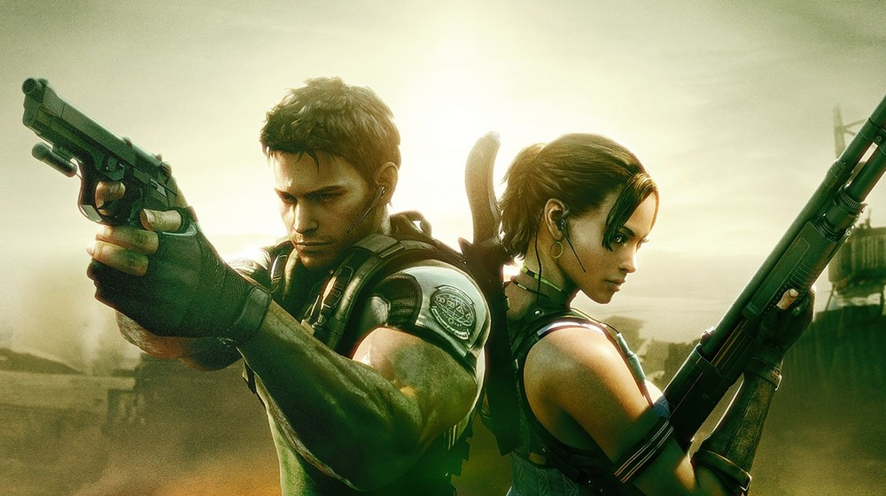 Chris Redfield Resident Evil 5