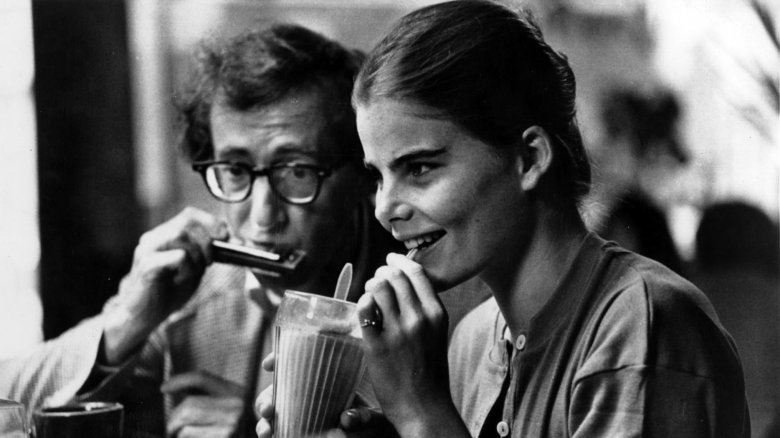 Woody Allen and Mariel Hemingway in Manhattan