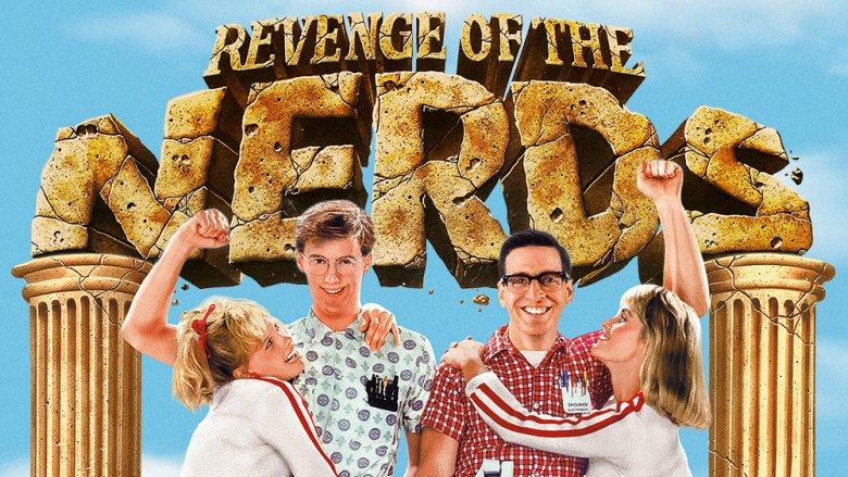 Revenge of the Nerds poster art