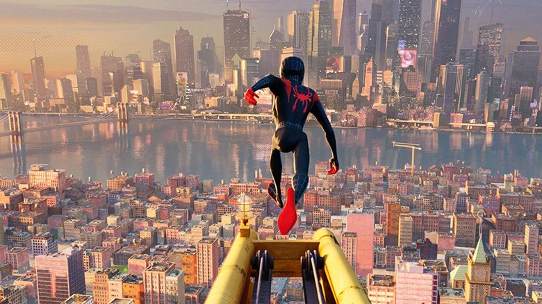 Miles Morales in Spider-Man: Into the Spider Verse