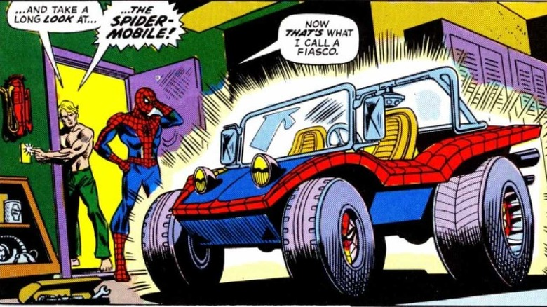 Spider-Mobile panel