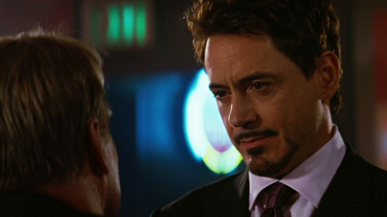 Stark talks to Ross
