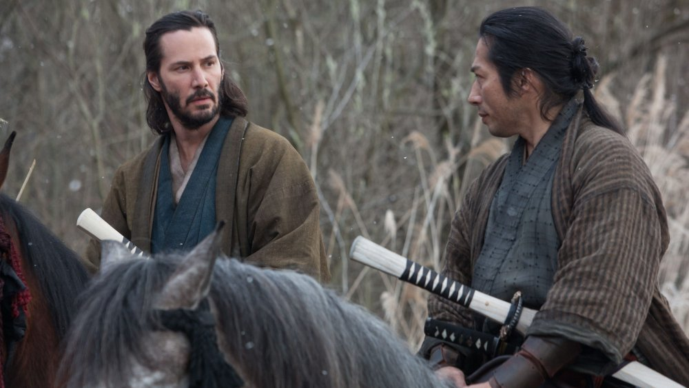 Keanu Reeves and Hiroyuki Sanada in 47 Ronin
