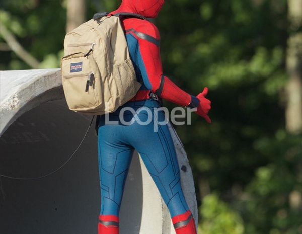 diversified latest designs online shop aliexpress Exclusive: Spider-Man Homecoming Set Photos
