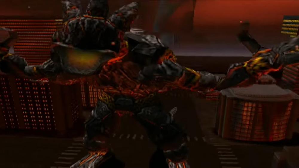 Obsidius in Godzilla: Unleashed for PS2