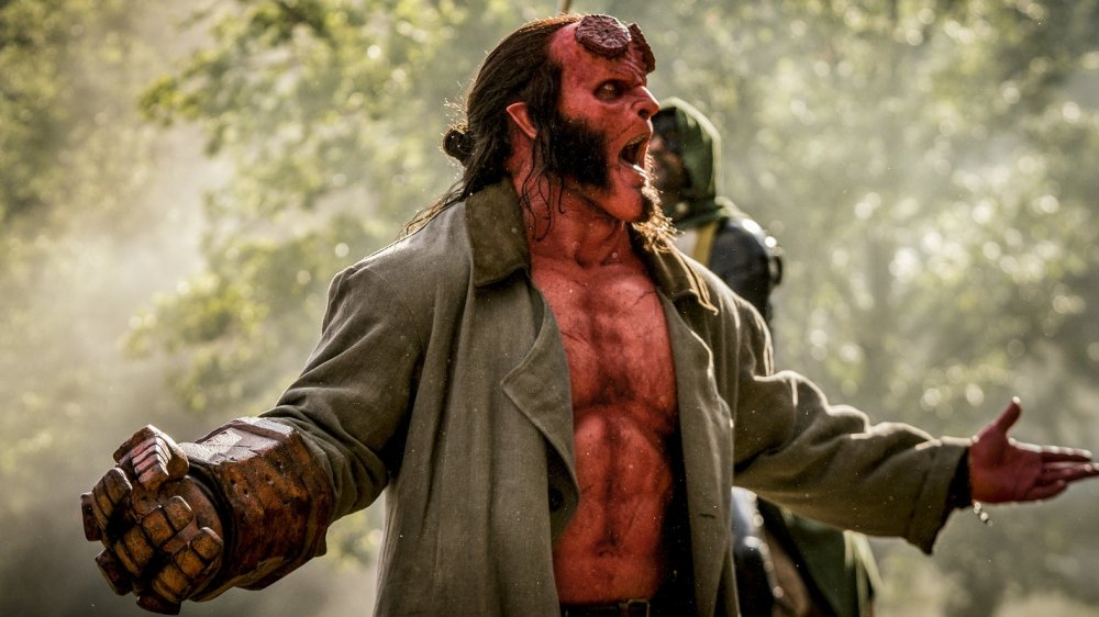 David Harbour as Hellboy in Hellboy (2019)
