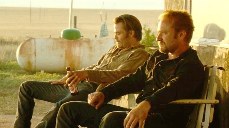 Ben Foster and Chris Pine in Hell or High Water
