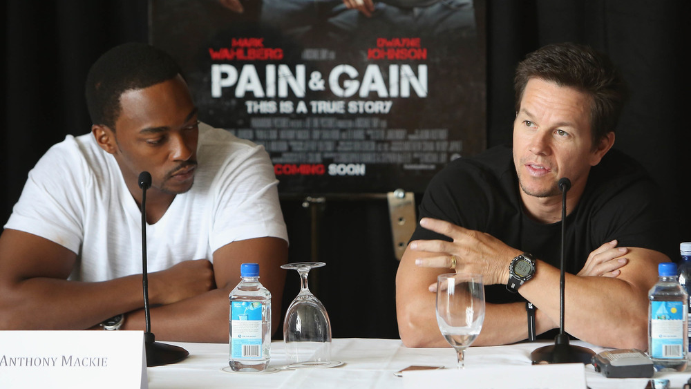 Anthony Mackie and Mark Wahlberg