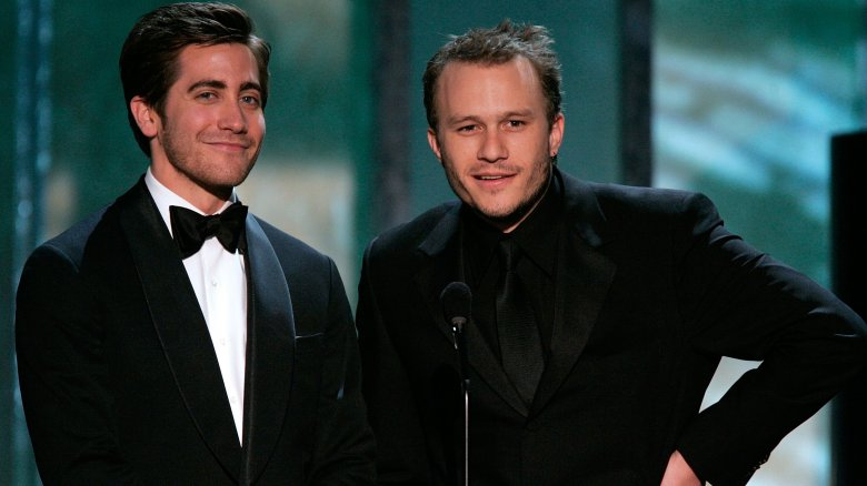 Heath Ledger and Jake Gyllenhaal