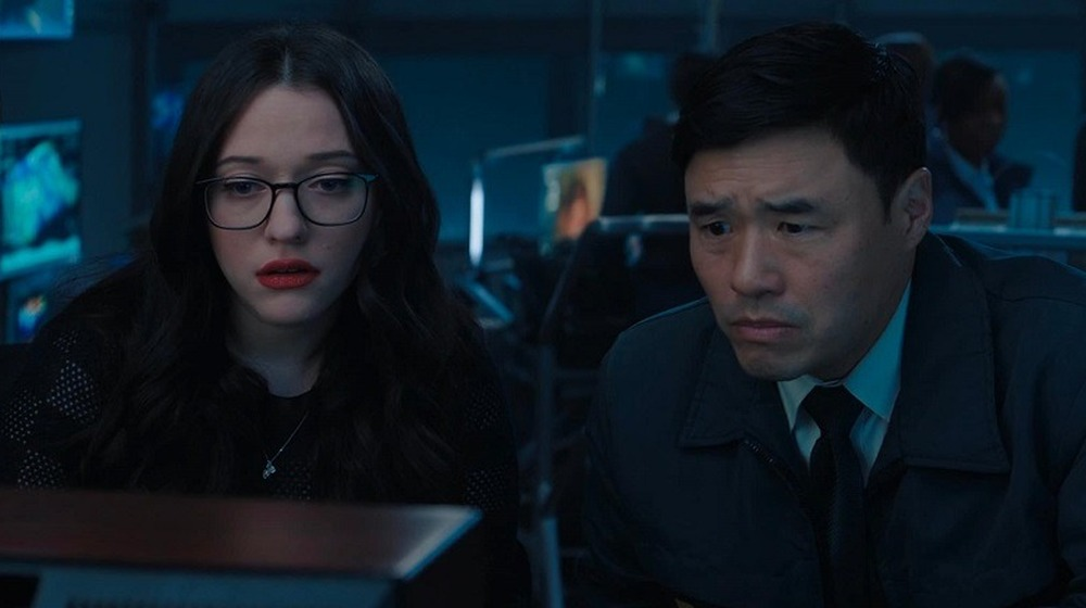 Dr. Darcy Lewis and Jimmy Woo