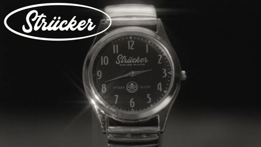 The Strucker watch commercial from WandaVision