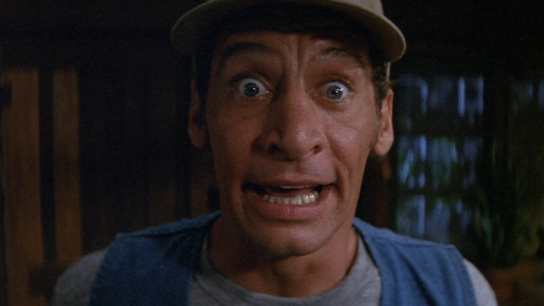 before he was handed the keys to his own film franchise jim varneys ernest p worrell character was a commercial pitchman who starred in a series of goofy - Ernest Saves Christmas