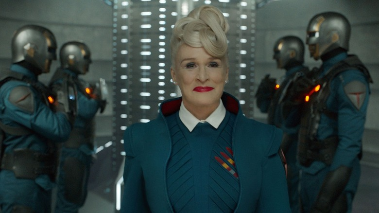 Glenn Close as Nova Prime in Guardians of the Galaxy