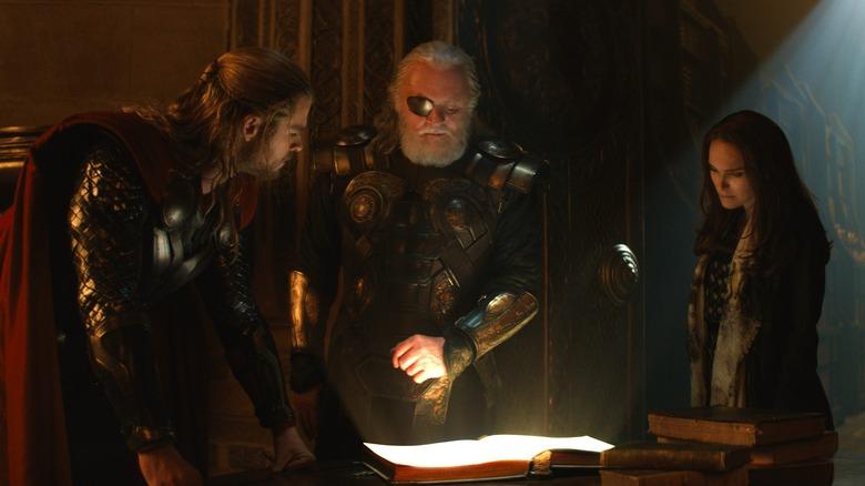 Scene from Thor: The Dark World