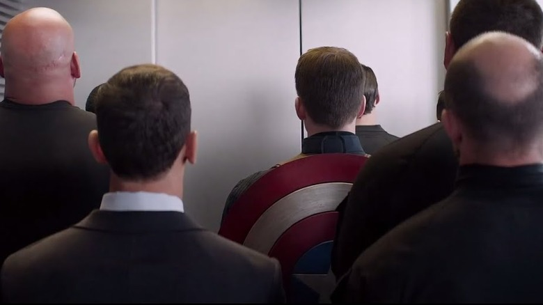 Scene from Captain America: The Winter Soldier