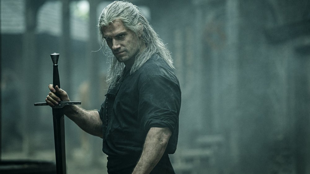 Geralt of Rivia in The Witcher